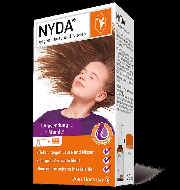 NYDA®-Pumpspray Verpackung
